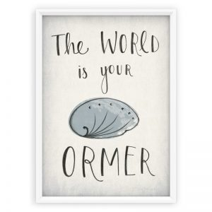 WORLD IS YOUR ORMER