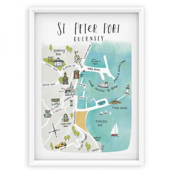 ST PETER PORT MAP