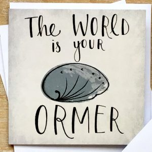 Ormer card of Guernsey