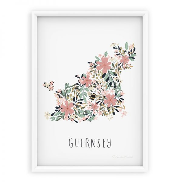 guernsey floral map
